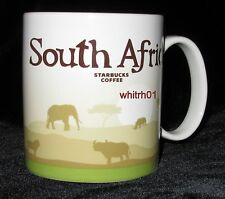 Starbucks South Africa Mug Lion Tree Life Big 5 Rhino Safari Coffee Cup New Icon