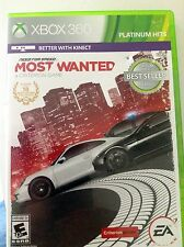Need for Speed Most Wanted XBOX 360 video game