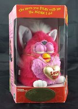 """Valentine's Day"" Furby Pink NEW IN BOX #70-888 Tiger Electronics (1999)"