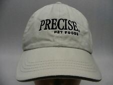 PRECISE PET FOODS - EMBROIDERED - ADJUSTABLE BALL CAP HAT!