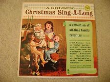 A Golden Christmas Sing-A-Long 33 RPM  LP Vinyl 1974 Golden Rec./ VG++