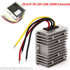 Waterproof Converter Regulator DC 12V Step UP to 24V 240W 10A Car Supply Module