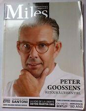 Miles n°9 du 5/2013; Peter Goossens/ Aston Martin DB9/ Jaeger-Lecoultre 180 ans