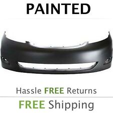 Fits: 2006 2007 2008 2009 2010 Toyota Sienna Front Bumper PAINTED w/o park snsrs
