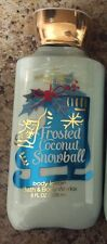 Bath And Body Works Frosted Coconut Snowball Lotion
