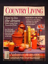 Country Living Magazine - October 2013 - How to live the dream - Modern rustic