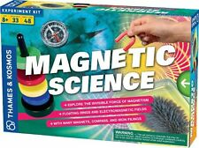Thames & Kosmos MAGNETIC SCIENCE KIT Conduct 33 Experiments Age 8+