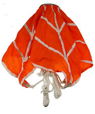 SURPLUS CHINESE MILITARY TACTICAL ORANGE TOP PILOT PARACHUTE -33361