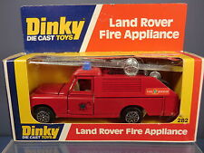 DINKY TOYS MODEL No.282  LAND ROVER FIRE APPLLIANCE    MIB
