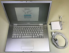 """Apple MacBook Pro 15.4"""" A1211 2.16GHz Core 2 Duo 4GB RAM 120GB HDD 10.7 Lion"""