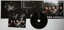 Greg Cerrone Taking Control Rare 2009 Digipack CD + Booklet
