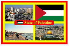 STATE OF PALESTINE - SOUVENIR NOVELTY FRIDGE MAGNET - BRAND NEW - GIFT