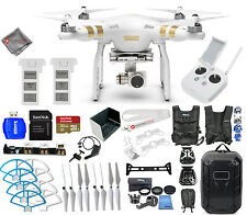 DJI Phantom 3 Professional with 4K Camera! 2 BATTERY EVERYTHING YOU NEED KIT!!