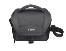 SONY LCS-U11 BLACK Carrying Case for Camcorders, Alpha, NEX Cameras LCSU11 / NEW