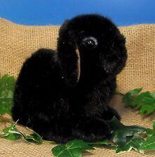 Kösener 6162 - Zwergwidderkind schw. Hase Kaninchen 18 cm Kuscheltier Plüschtier