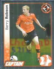 PANINI SCOTTISH PREMIER LEAGUE 2008- #110-DUNDEE UNITED-BARRY ROBSON-GOLD FOIL