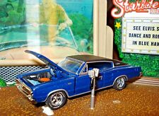1966 66 DODGE CHARGER 383 POWER PACK LIMITED EDITION MUSCLE CAR 1/64 M2