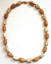 Vintage Art Deco Celluloid Flower Necklace