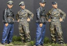 ALPINE Mens 35122 Panzer Aces Normandia Wittmann WW2 Set 1 / 35th KIT non verniciata