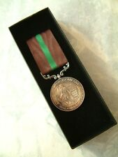 BRITISH COLONIAL ARMY DEFENCE OF OOKIEP MEDAL CAPE COPPER MINING Co BOER WAR BOX