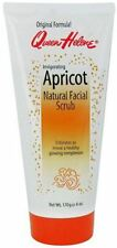 QUEEN HELENE Natural Facial Scrub, Invigorating Apricot 6 oz (Pack of 4)