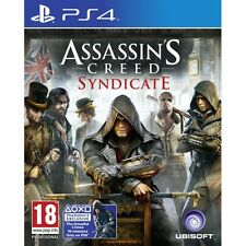 ASSASSIN'S CREED Syndicate ps4 GIOCO NUOVO di zecca