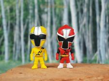 Samurai Shinkenger Power Ranger Shinken Yellow Red Kotoha Cake Topper Figure AB