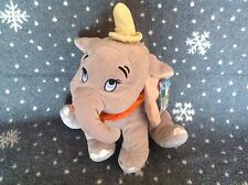 "DISNEY DUMBO ELEPHANT 10"" TALL FLOPPY PLUSH TOY EXCELLENT CONDITION"