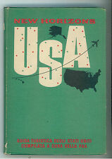 NEW HORIZONS USA PAN AMERICAN AIRWAYS 1966 GUIDE VIAGGI STATI UNITI AMERICA