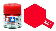 TAMIYA COLOR X-27 Clear Red Model ACRYLIC PAINT 10ml Free Shipping