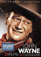 JOHN WAYNE : THE TRIBUTE COLLECTION (25 movies) -  DVD - UK Compatible - Sealed