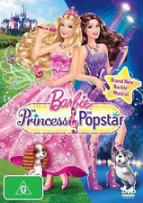 Barbie - The Princess & The Popstar [ DVD ] LIKE NEW, Region 4 + 2....5925