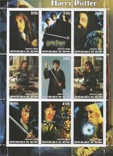 HARRY POTTER AND THE CHAMBER OF SECRETS 2003 MNH STAMP SHEETLET