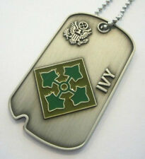 4th INFANTRY DIVISION (Commémorative Dog Tag)