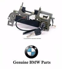 BMW E36 Outside Door Handle Assembly with Key Front Left Genuine Bmw 51218199923