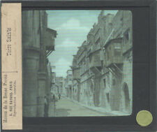 GLASS LANTERN SLIDE, LABELED MAISON DE LA BONNE PRESSE.