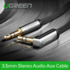 Ugreen 3.5mm Male to Male Car Aux Auxiliary Cord Stereo Audio Cable PC Phone MP3