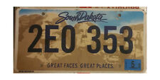 REAL SOUTH DAKOTA LICENSE PLATE NEW BUFFALO GRAPHIC AUTO NUMBER CAR TAG ND LQQK