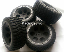 1/10 RC Nitro Electric Car Buggy Short Course Truck Off Road Wheels + Tyres x 4