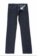 "Versace COLLECTION Caballeros Lino Azul Denim Jeans W32""in L34""in BNWT"