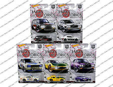 Hot Wheels Japan Historic Car Culture  SET of 5  NEW PROMO RARE MINT