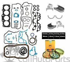 "FITS: 96-97 TOYOTA RAV4 2.0L ""3SFE"" DOHC ENGINE FULL SET *RE-RING KIT* NPR BRAND"