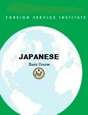 Complete JAPANESE  FSI Language Course Part 1 & Part 2 and more TEXT & AUDIO!