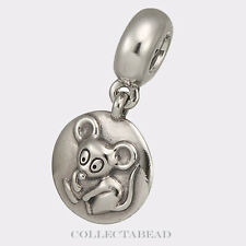 Authentic Pandora Sterling Silver Dangle Rat Chinese Zodiac Bead 790884