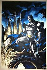 Batman DC Comics Oil Painting Hand-Painted Art Canvas NOT a Print or Poster 12