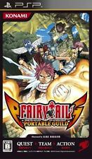Used PSP Konami Fairy Tail: Portable Guild SONY PLAYSTATION JAPAN IMPORT