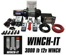 WINCH BOAT TRAILER ATV UTILITY 3000LB WINCH-IT QUALITY 2016 SPEC