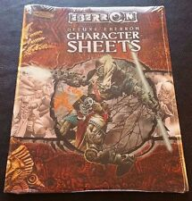 D&D 3.5 DELUXE EBERRON CHARACTER SHEETS Dungeons & Dragons Sealed Shrink NM NEW!