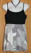 NEW/TAGS ESPRIT Stretch Jersey Bodice & Chiffon Skirt Camisole Size 10 RRP $179