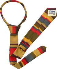 Doctor Who 4th Dottore Tom Baker Cravatta Ufficiale Bbc Merchandise UK Venditore